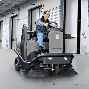 Karcher Medium Ride-on Sweeper